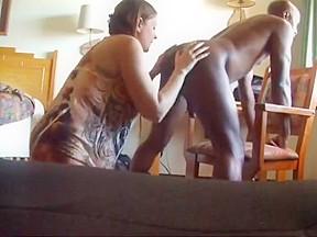 Wife fucks monster cock