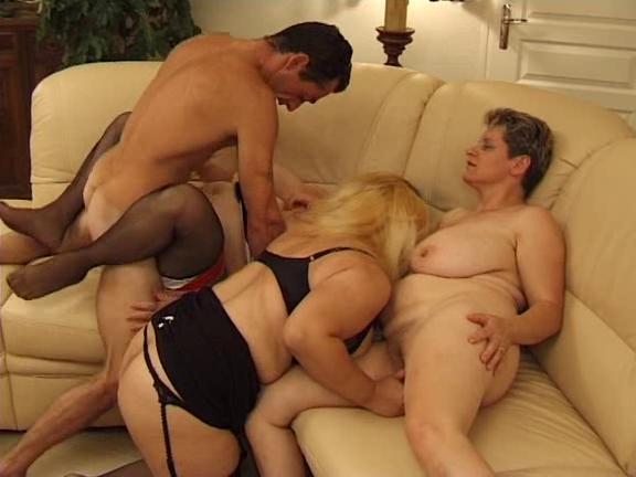 German sex orgy with milfs and matures