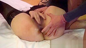 Forced homemade anal creampie
