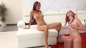 Lesbian anal massage hd