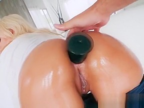 Gorgeous blonde cock sucker