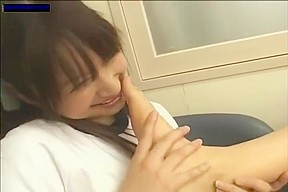 Asian chick squirts all over