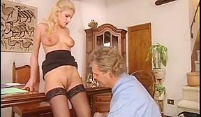 Porn stars wearing butt plugs