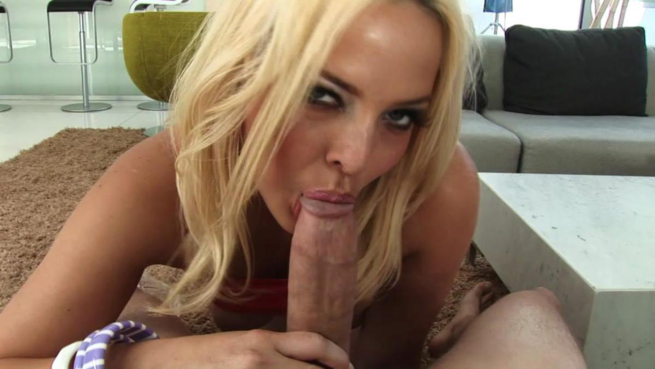 Sexy Blonde Pov Blowjob
