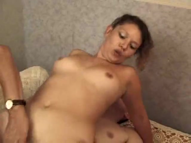 Hot threesome anal old vs. young encounter