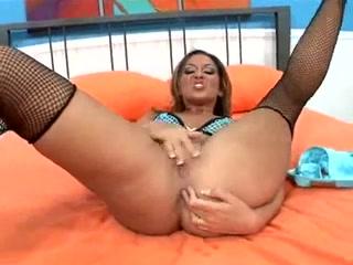 Adrianna Deville Stocking Squirt