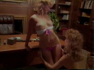 blonde retro lesbian sluts in their first porn movie