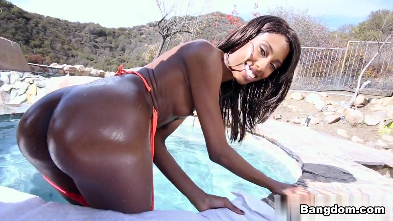 Chanell Heart in Ebony babe gets some big black dick Video