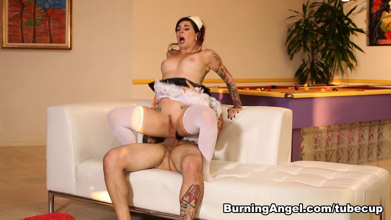 Joanna Angel & Small Hands in French Fuck Maid Scene