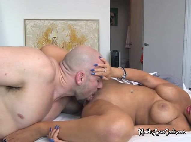 Latina Maid Ada Sanchezs Big Boss Plowing Her Smooth Pussy