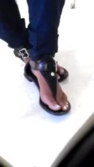 My Classmate's Candid Feet(An Old 2011 Video of Mine)