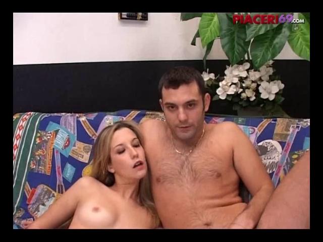 italian couple having dirty fun on webcam