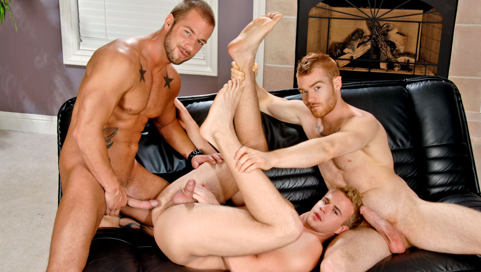 James Jamesson & Rod Daily & Cameron Foster in The Pop In XXX Video