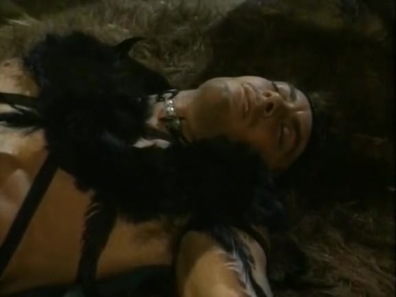 1980's porn movie of savage barbarian sex