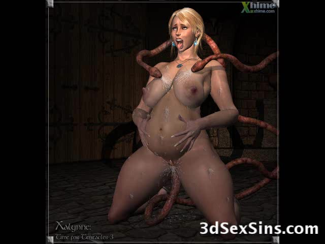 3D Creatures Fuck Women!