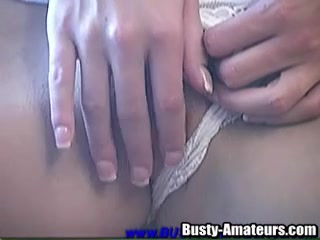 Treats herself to masturbation