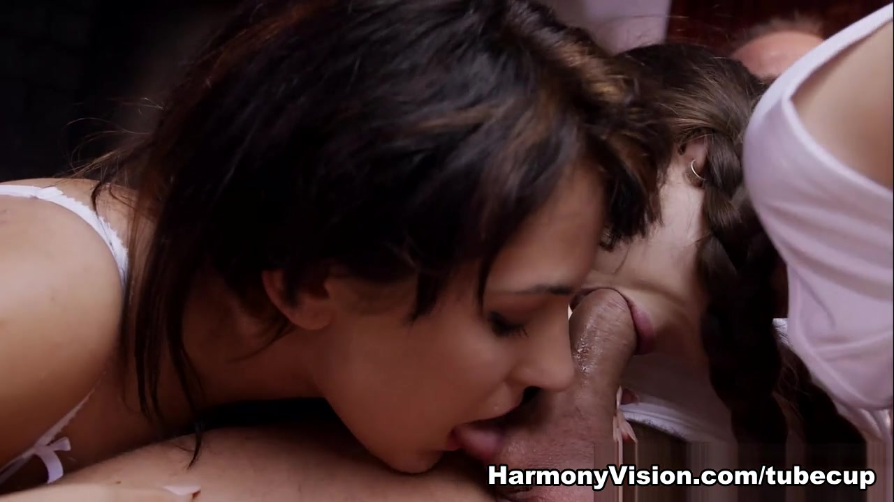 Bella Beretta & Abrill Gerald in Getting Naughty With The New Coach - HarmonyVision