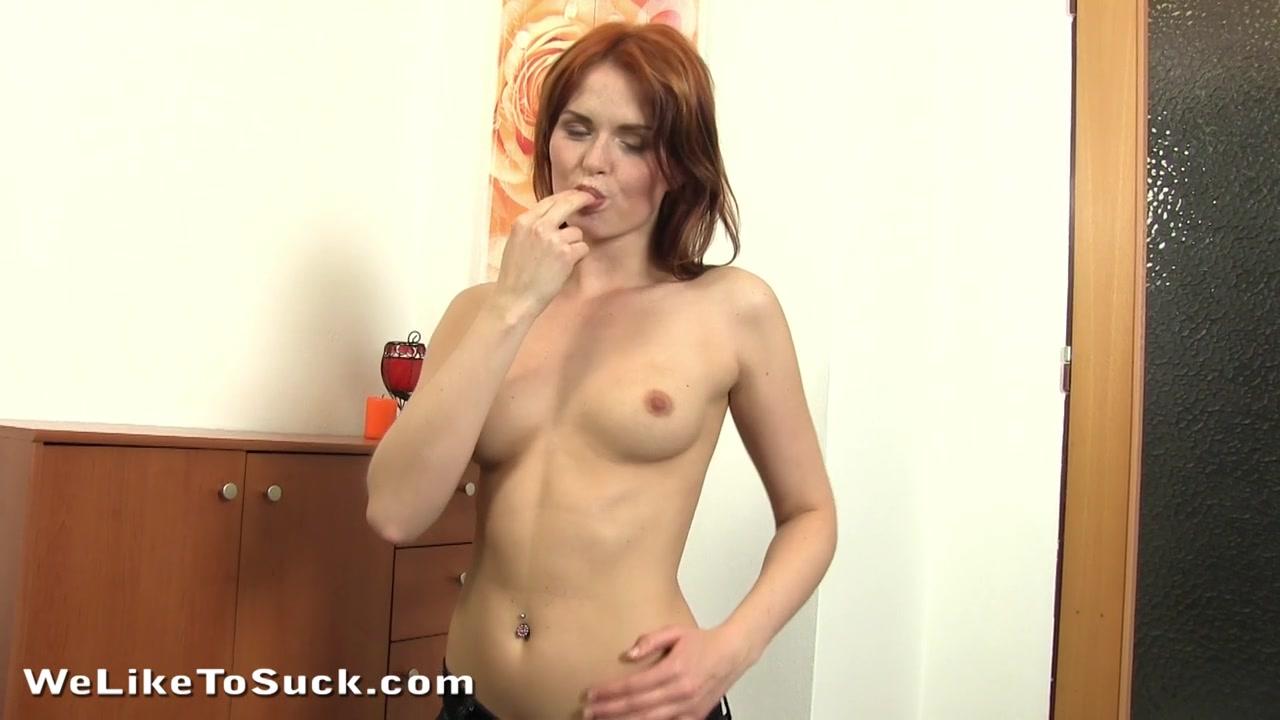 horny amber sucks a big veiny pecker in hd porn video
