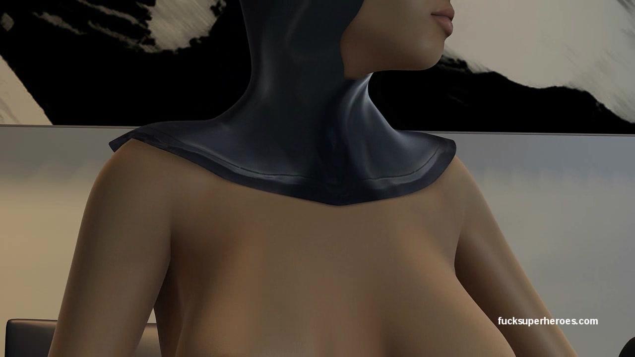Bat Girl and Wonderwoman - Bat Dildo never fails! Wet Juicy Pussy for days!