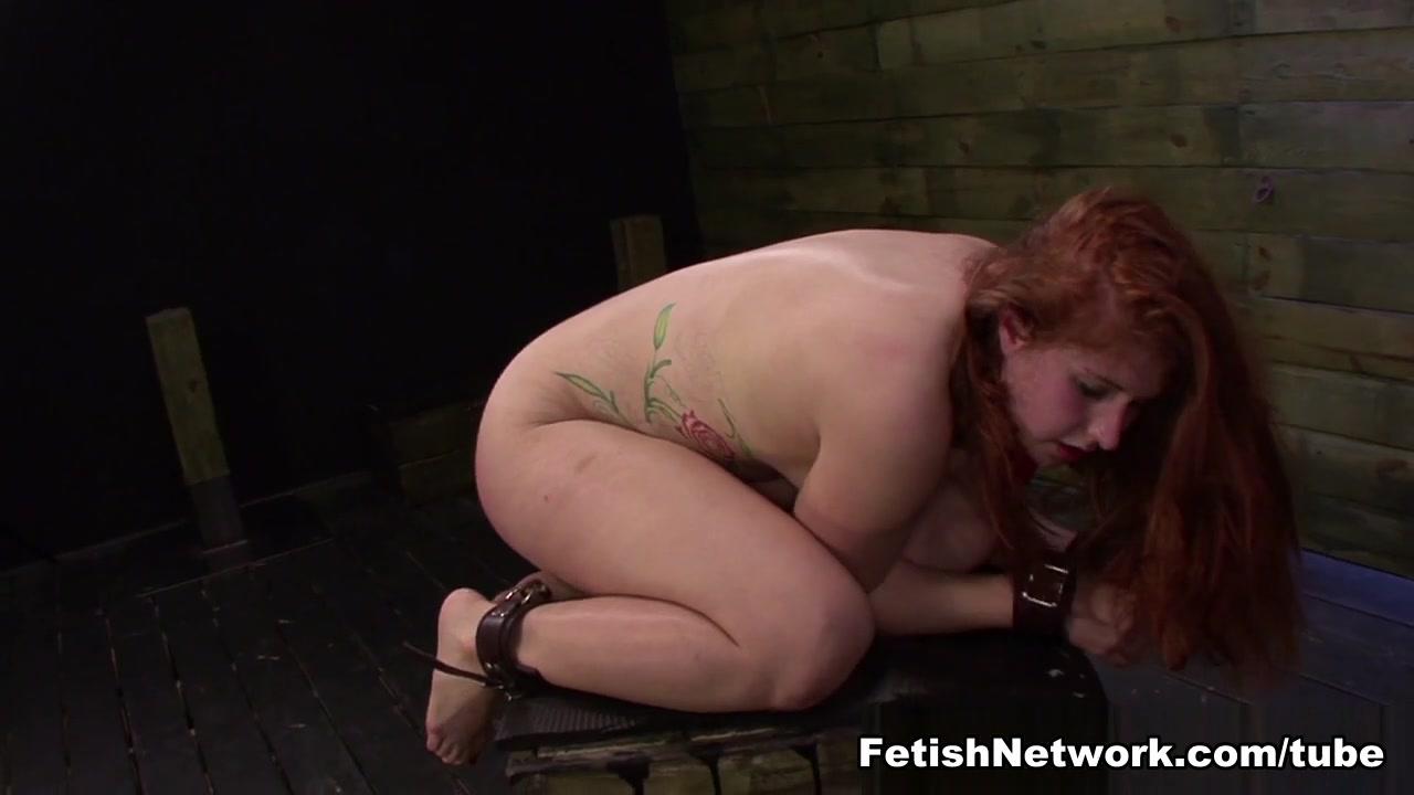BDSM Slut Rose Red Tyrell Endures Rough Anal Sex - SexualDisgrace