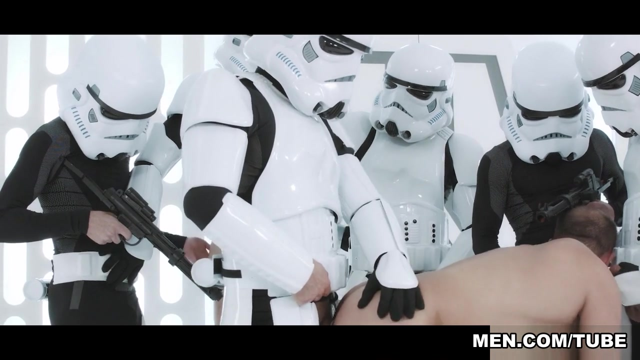Hector De Silva, Luke Adams, Paddy O'Brian, Troopers in Star Wars 4 : A Gay XXX Parody - JizzOrgy