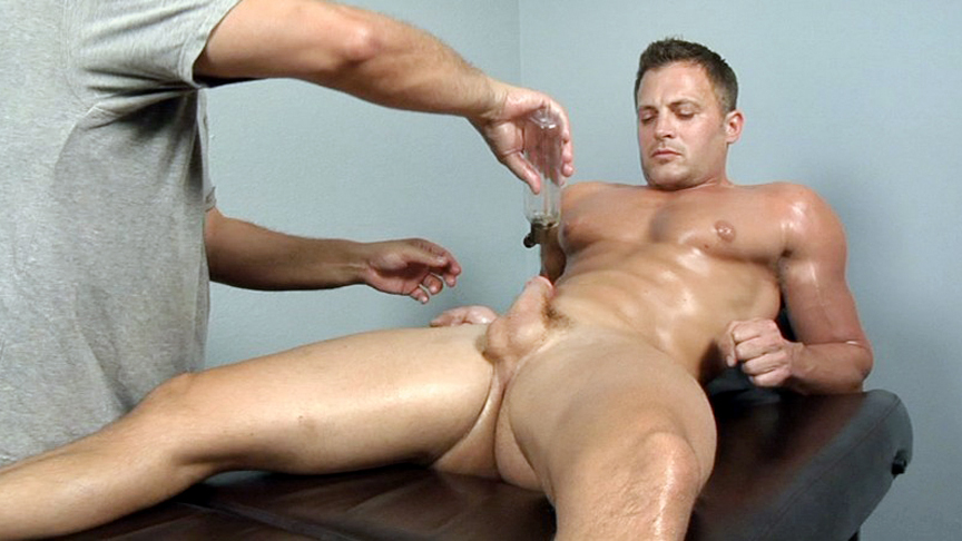 mature gay cums during anal