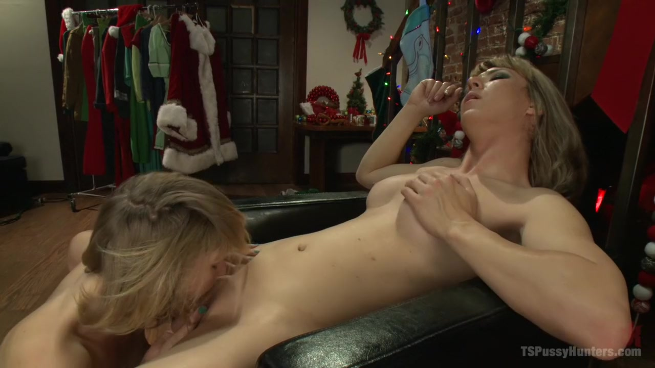 Christmas Can Go Fuck Itself Or She can Fuck the Xmas Elf w/her Cock