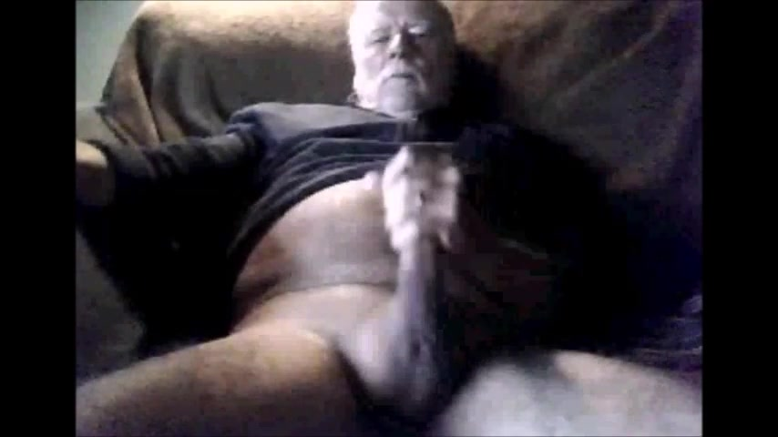 Grandpas cock compilation on cam