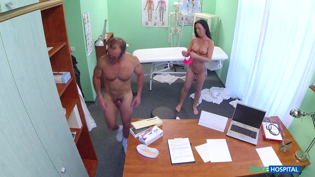 Alicia in Saucy sexy patient seeks and seduces doctors cock after friends recommendation - FakeHospital