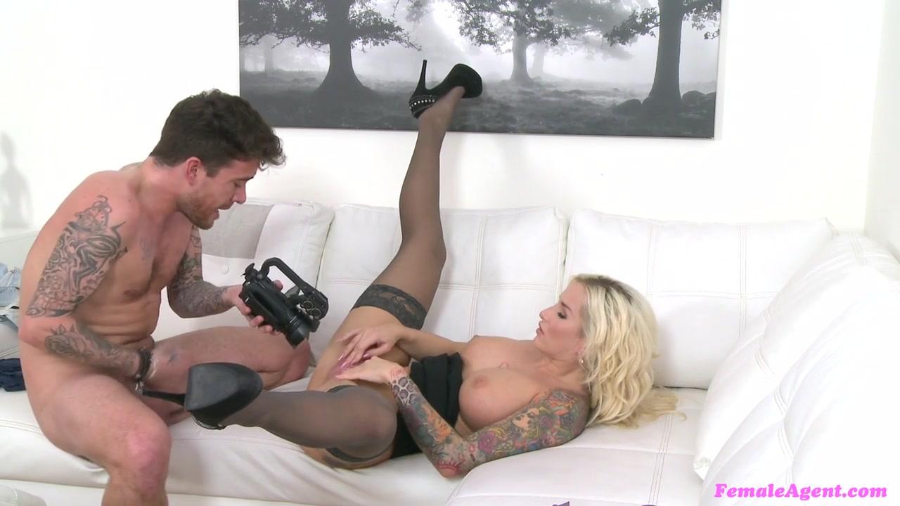 Jarushka & Luke in English stud loves Czech pussy - FemaleAgent
