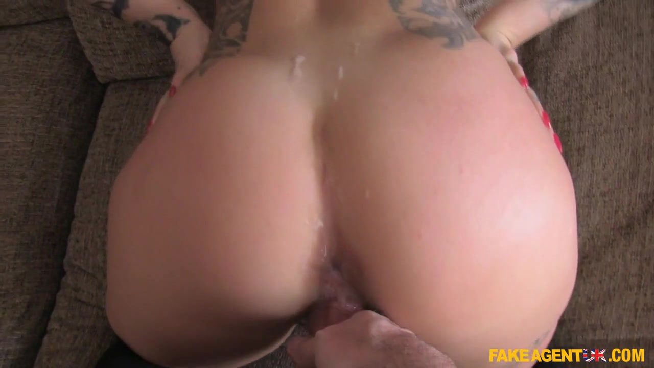 Kimmie in Hot Brunette Has a Very Tight Arse - FakeAgentUk