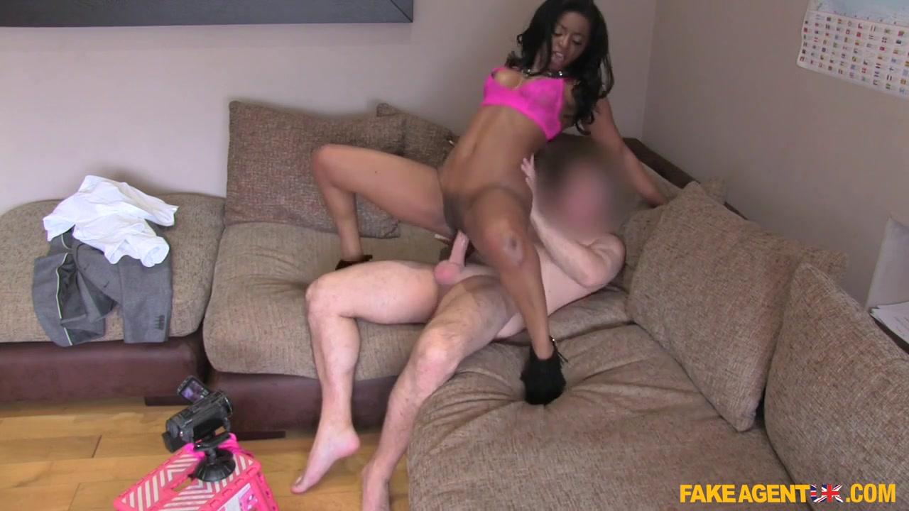 Jasmine in Perfect Ebony Booty Straddles Cock - FakeAgentUk