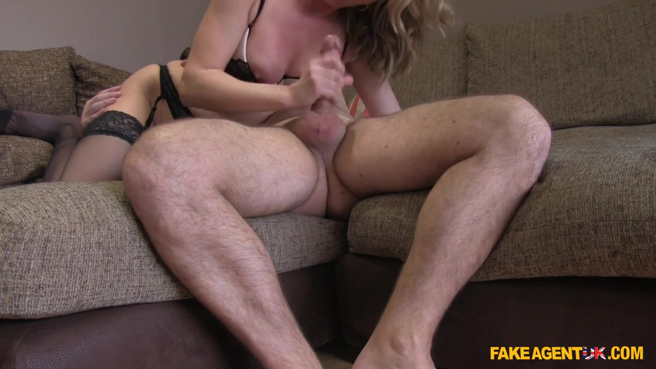 Summer in Sexy blonde milf takes it from behind in casting - FakeAgentUk