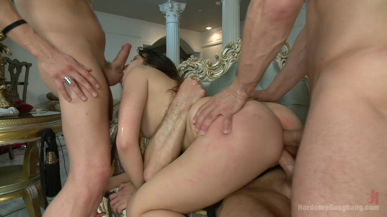 18yr old Asian Porn Virgin Begs to get Gangbanged Bondage DP bukkake
