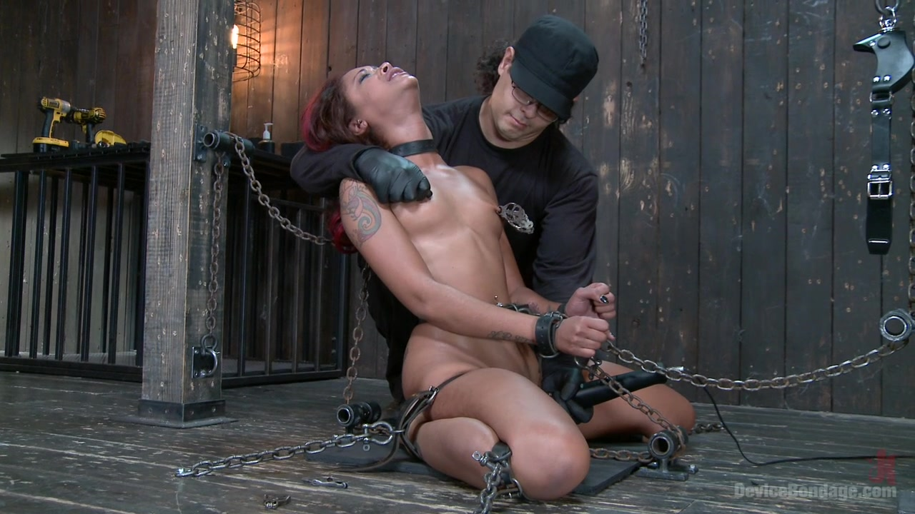 Rising from the ash Skin Diamond is fucked brutal bondage