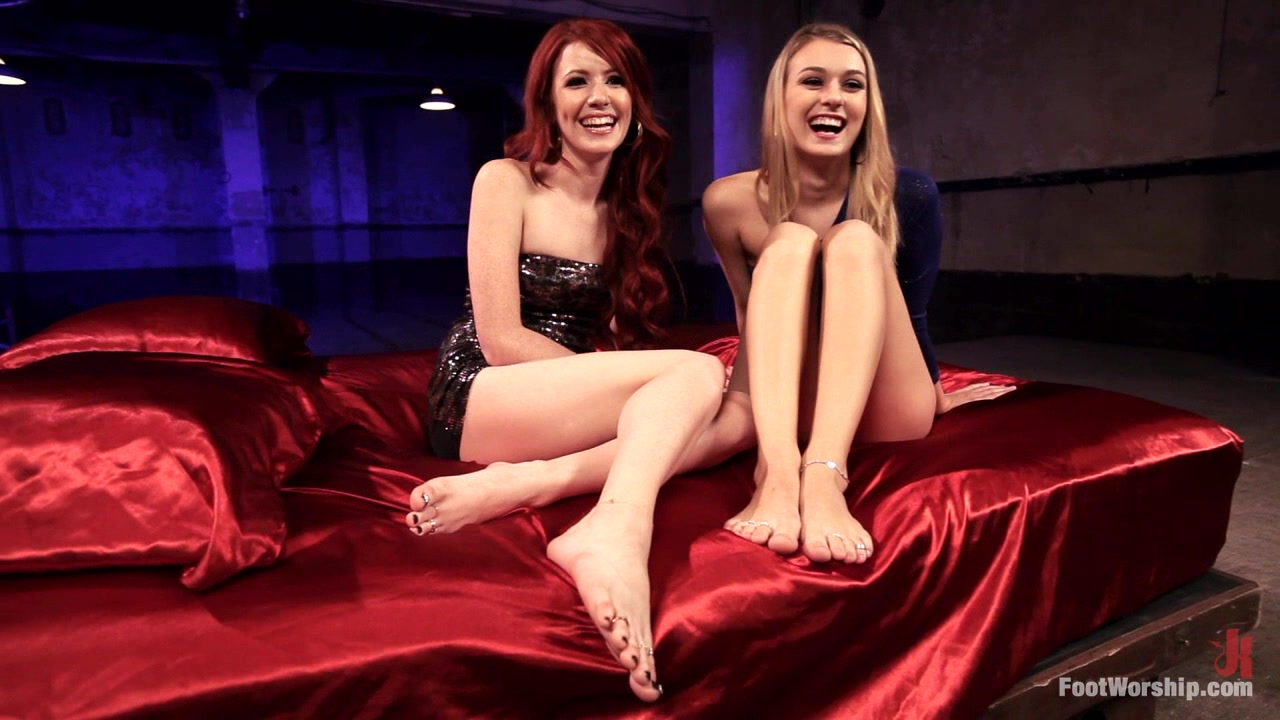 Lesbian foot fantasies fetish