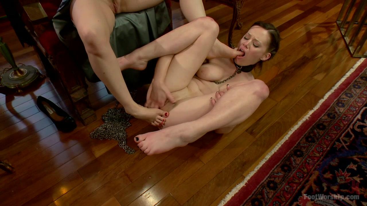 BONUS UPDATE Webbed Toed Submissive Slut Worships Aiden Starrs Feet