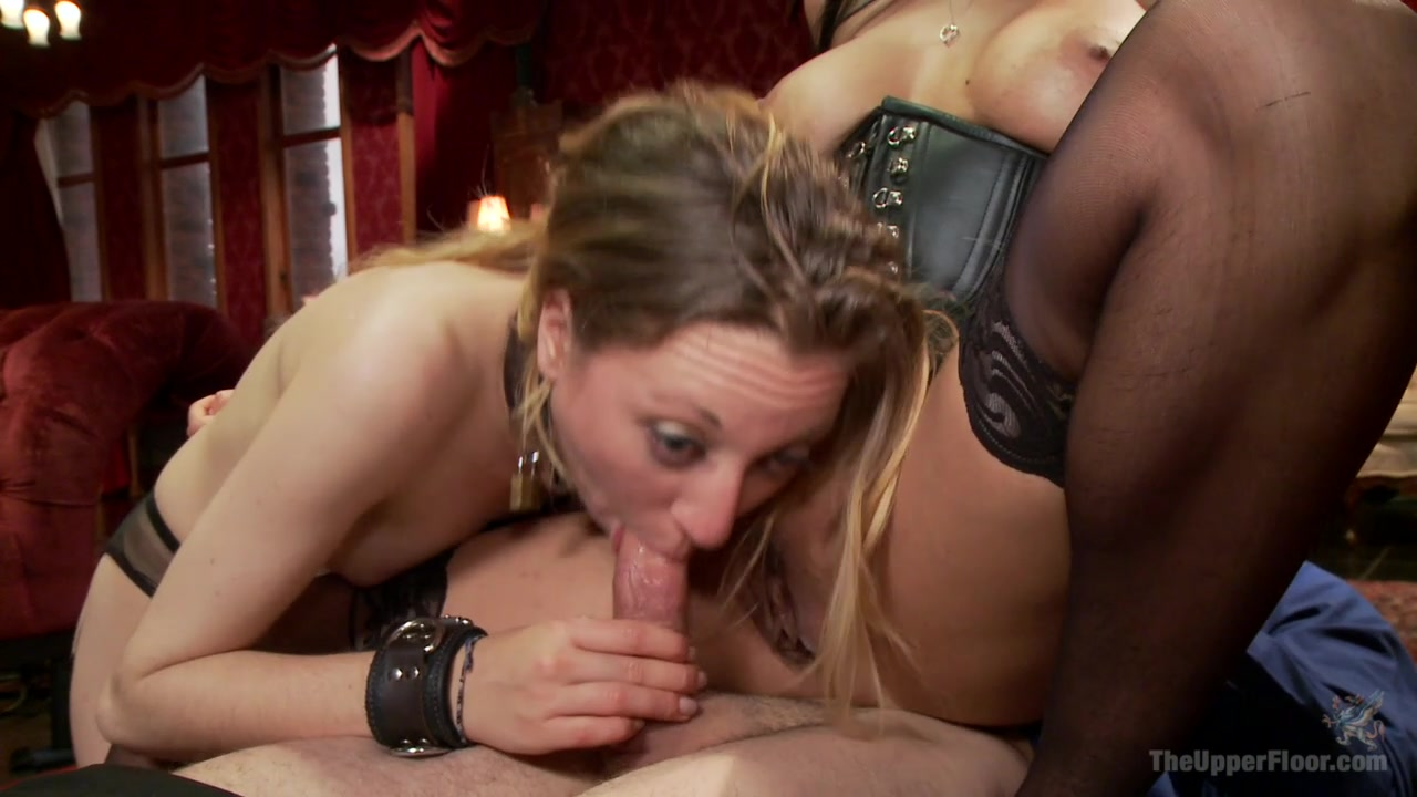 Isis Love and her Bitch Emma Haize Share One Hard Dick
