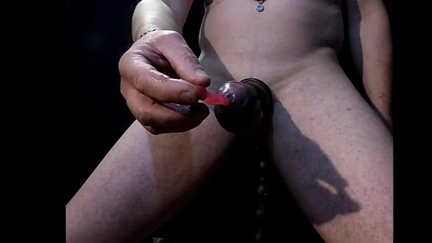 Chat cam anneaux bite insertion brosse dans les 2 sens