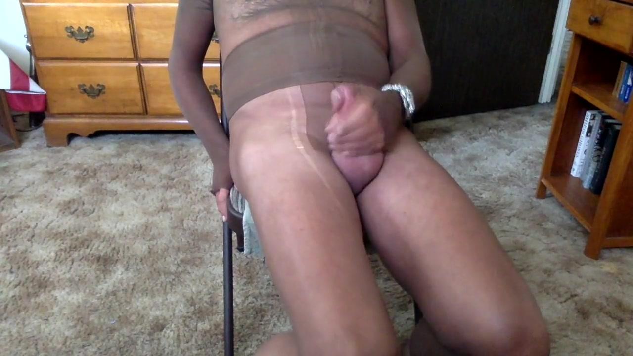 Encased fem fetish fag JOI