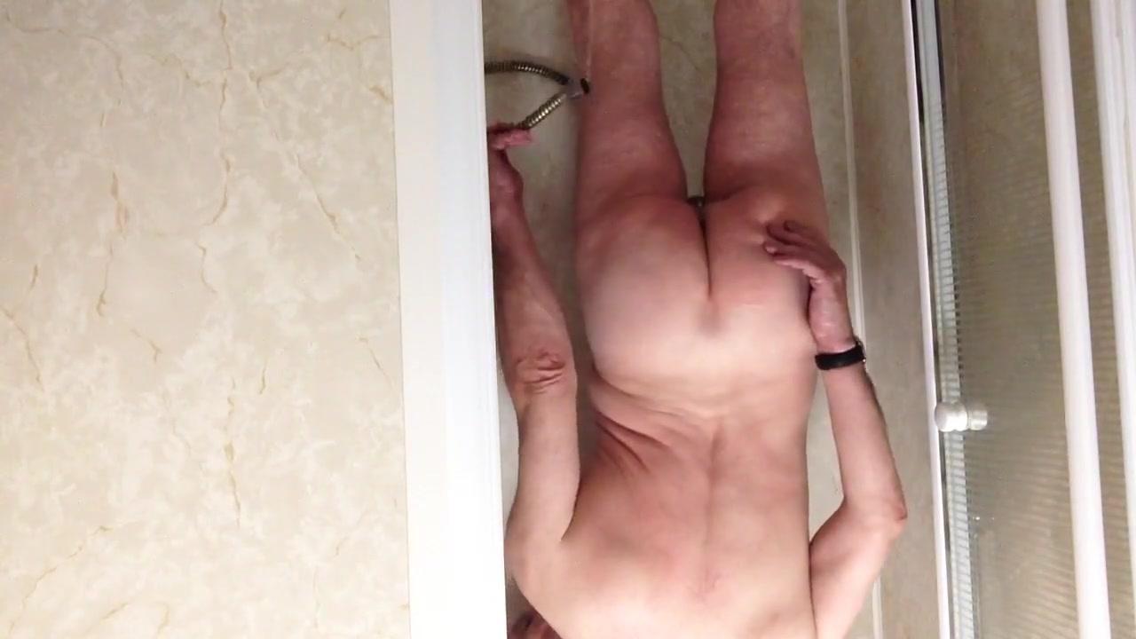 Shower enema