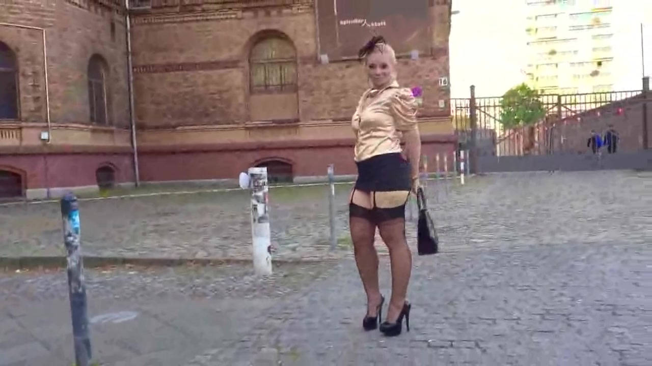 MILF Encourage to Masturbation with her Sexy Dress