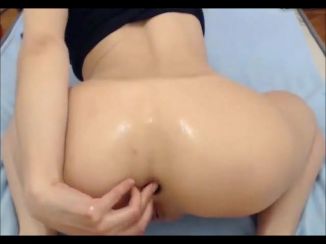 Deep Anal with Belly Bulge Prolapse