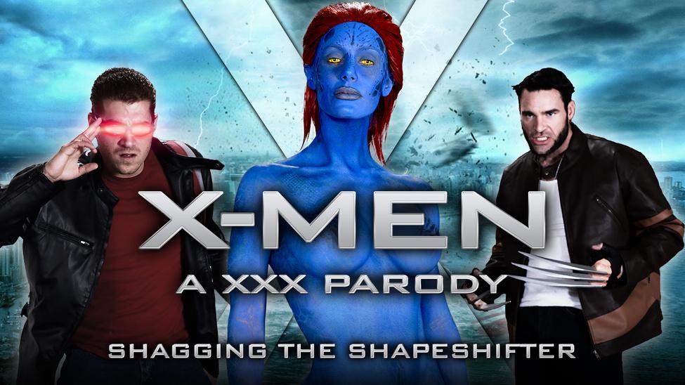 Nicole Aniston & Charles Dera & Xander Corvus in XXX-Men: Shagging the Shapeshifter XXX Parody - Brazzers