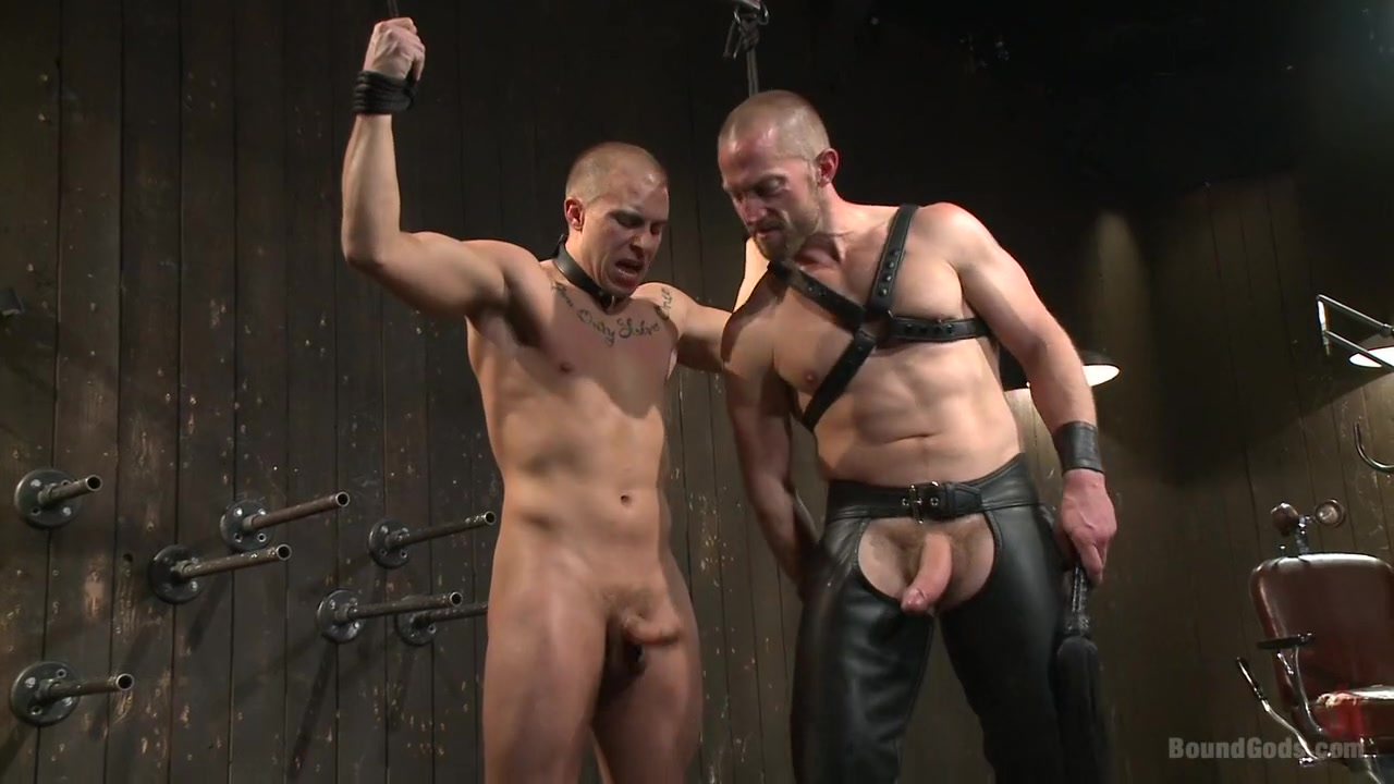 Helpless stud's torturous ordeal at the hands of a twisted pervert