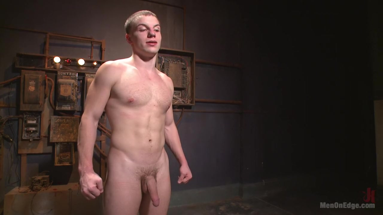 Hot captive with a 10 inch cock