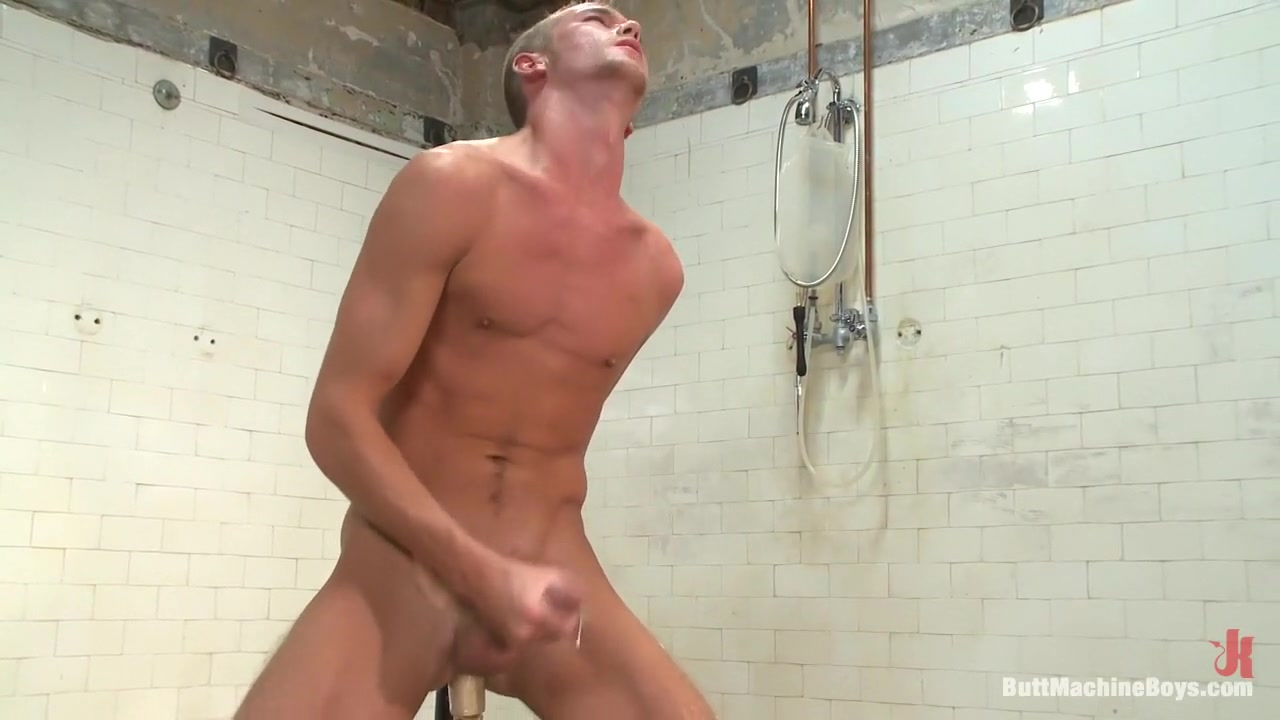 Jake in the Shower