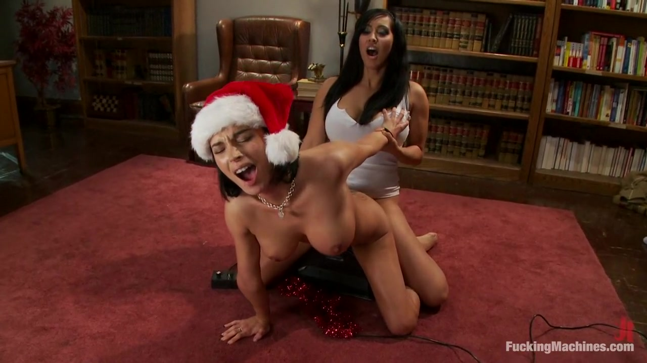 Happy Holidays from FuckingMachines.com  Bonus ALL Sybian Orgasms