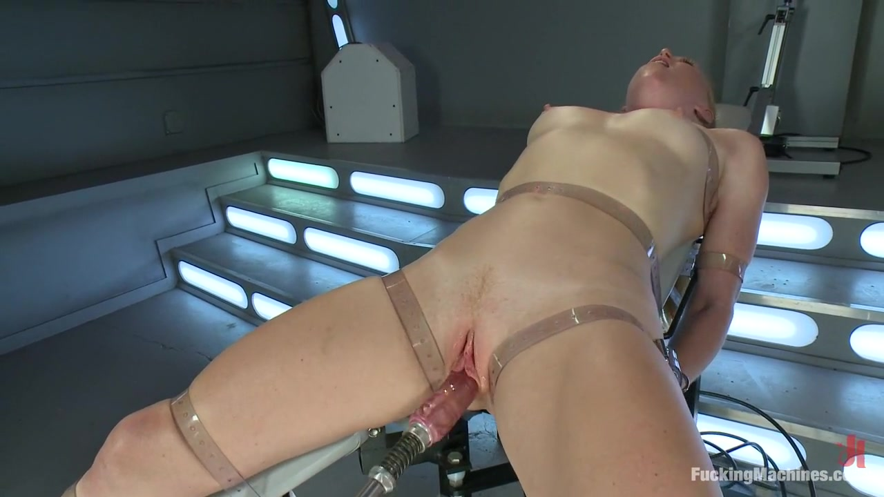 Bondage and Orgasms: Athletic Ginger Babe Machine Fucked in Rope