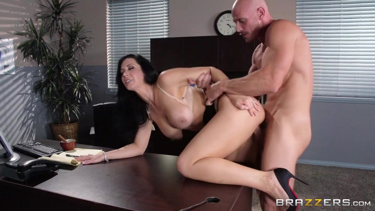 Jayden Jaymes & Johnny Sins in Dont Tell My Boss - Brazzers